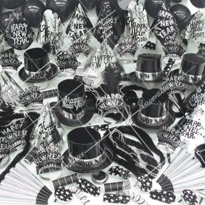 100p Sombreros Sensacion Plateada (Fiesta de fin de año) SS0198