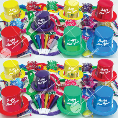 50p Sombreros de fiesta de fin de año (Legenda) LS0140