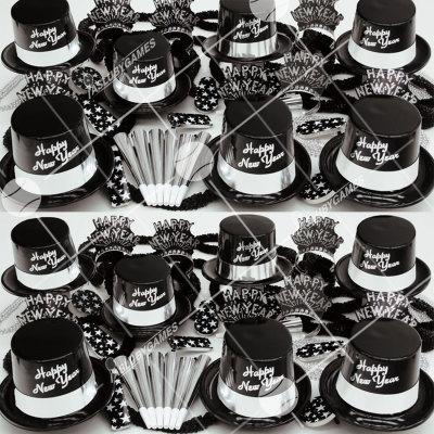 50p Sombreros de Fiesta de Fin de Año (Legenda Plateada) LP0142