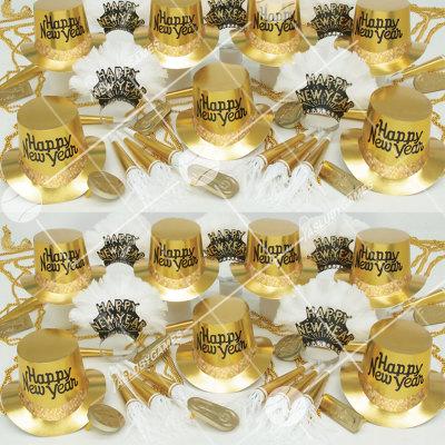 50p Sombreros de fiesta de fin de año (Mina Dorada) MD0147