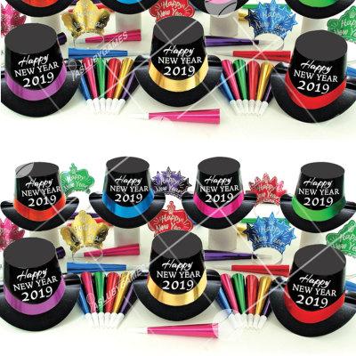 50p Sombreros de fiesta de fin de año (2019) NS0150