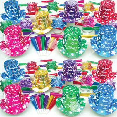 50p Sombreros de fiesta de fin de año (Lluvia de Estrellas) GSS0169