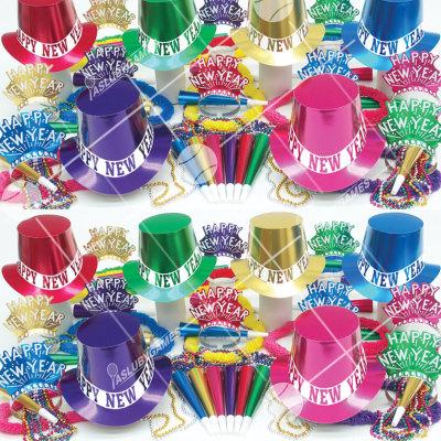 50p Sombreros de fiesta de fin de año (Gran Jolgorio) JB0175