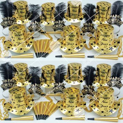 50p Sombreros de fiesta de fin de año (Estrella Dorada) GS0182G
