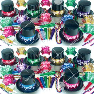 50p Sombreros de fiesta de fin de año (Noche Rock N Roll) NRN0187