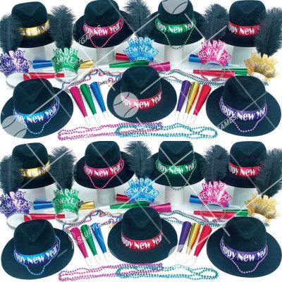 50p Sombreros de fiesta de fin de año (Noche Latente) NLI0189