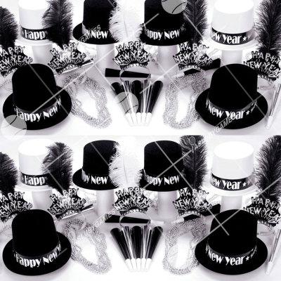 50p Sombreros de fiesta de fin de año (Todo por el Jazz) TJ01006