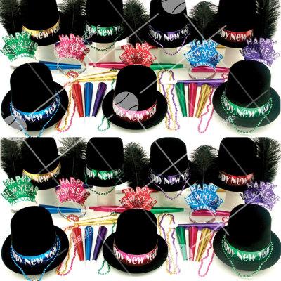 50p Sombreros de fiesta de fin de año (Tarde en Elegancia) TEG01024