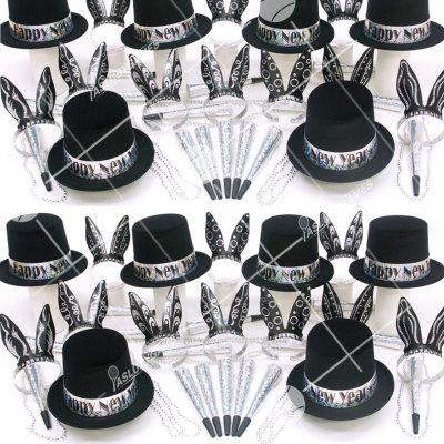 50p Sombreros de fiesta de fin de año (Damas y Caballeros) DC01027