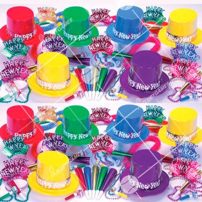 50p Sombreros de fiesta de fin de año (Estrella del Show) ES01033