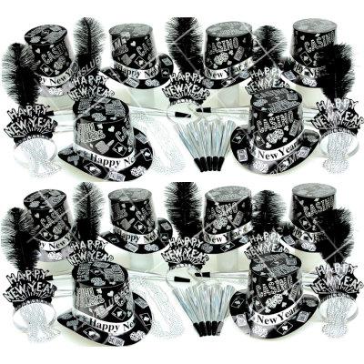 50p Sombreros de fiesta de fin de año (Poker de Plata) PP01046