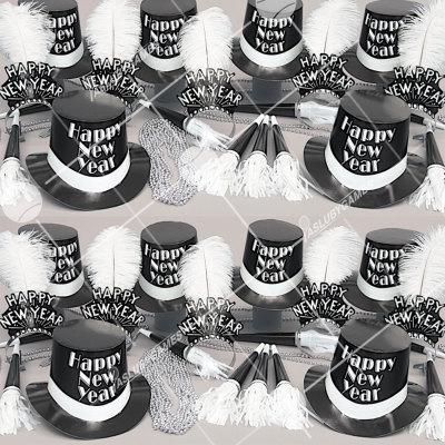 50p Sombreros de fiesta de fin de año (De Corbata y Moño) CM01055