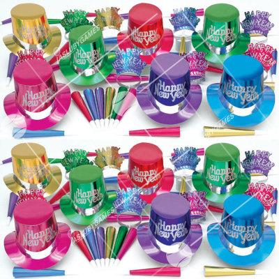 50p Sombreros de fiesta de fin de año (Elegance 2) ELD01059