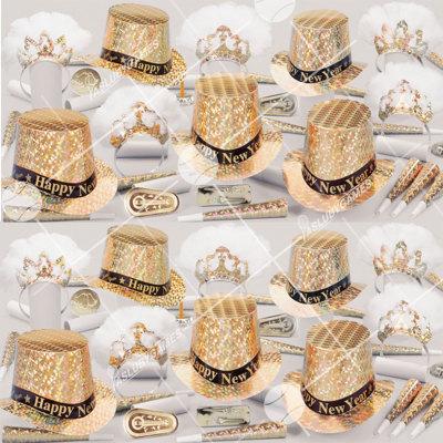 50p Sombreros de fiesta de fin de año (La Regencia) RC01060