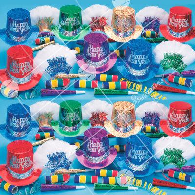 50p Sombreros de fiesta de fin de año (Pismatico de la Realeza) PRZ01061