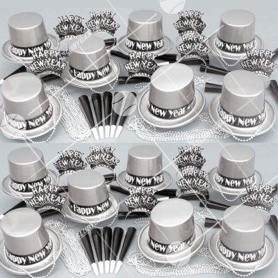 50p Sombreros de fiesta de fin de año (Celebracion de Plata) CP01063