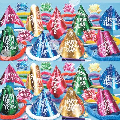 50p Sombreros de fiesta de fin de año (Cabaret) CBT01070