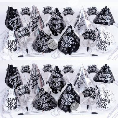 50p Sombreros de fiesta de fin de año (Luz Estelar) STL01071