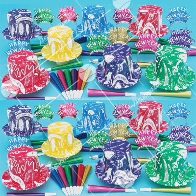 50p Sombreros de fiesta de fin de año (Supremo) SR01080