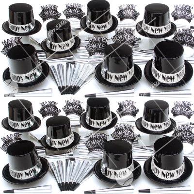 50p Sombreros de fiesta de fin de año (Eclipse de Plata) ES01081