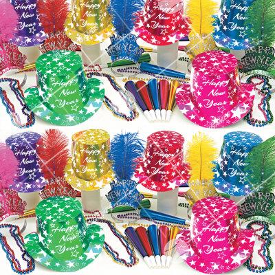 50p Sombreros de fiesta de fin de año (Golpe de Estrellas) GE01091