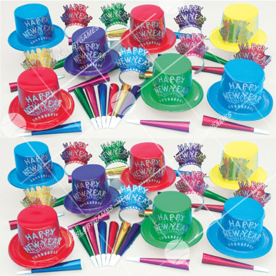 50p Sombreros de fiesta de fin de año (Explosion de Estrellas) EE01092