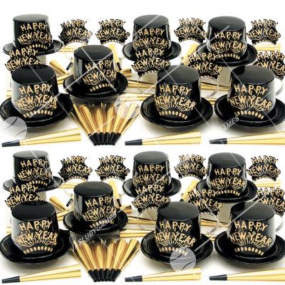 50p Sombreros de fiesta de fin de año (Golpe de oro) GO01094