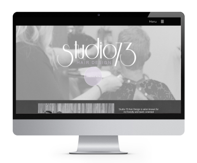 salon website
