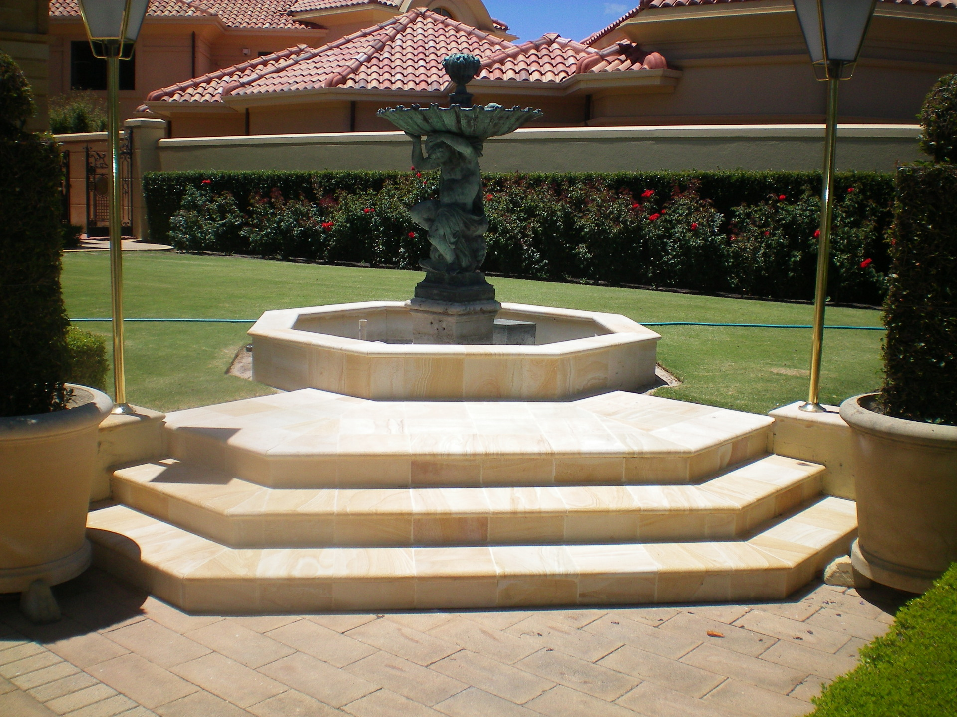 Dressed Donneybrook Sandstone Water Feature