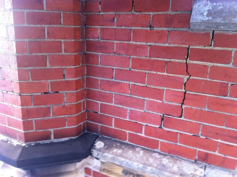 chimney, brickwork,Helifix,re-pointing