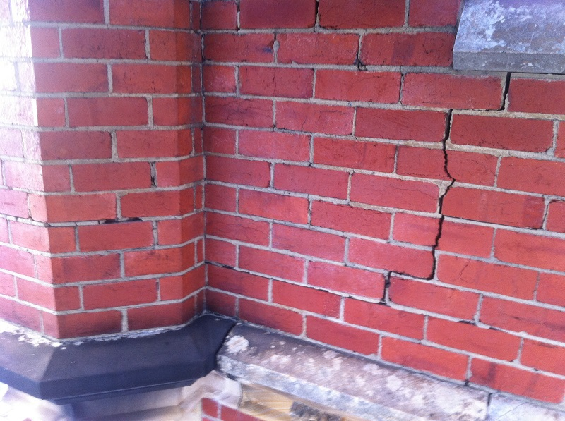 chimney, brickwork,Helifix,re-pointing