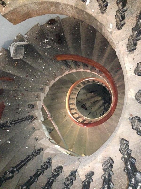 Sydney blue stone, stonework, stone stairs