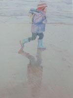 On the Beach by Jane Cornwell