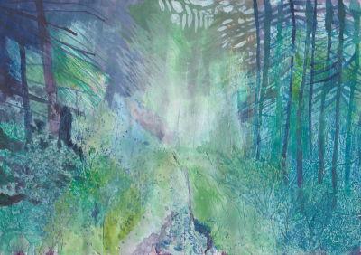 Path Through The Woods, Jane Cornwell