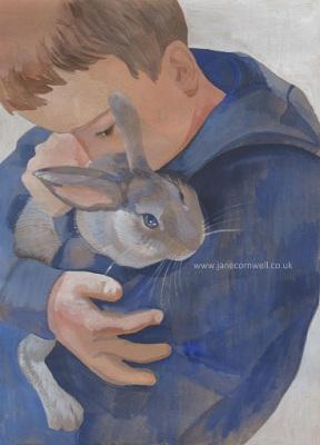 George and Flopsy by Jane Cornwell