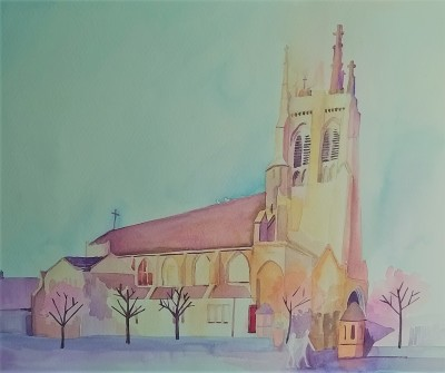St Mary's Church, Kirkintilloch, by Jane Cornwell