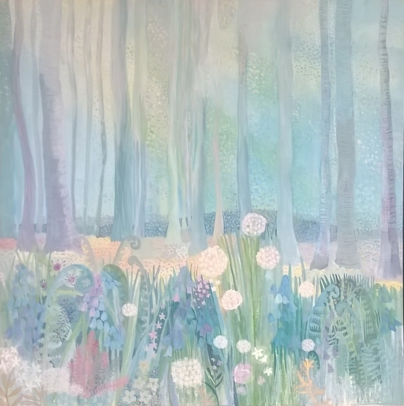 Bluebell Woods, at Knock Castle Gallery, Crieff
