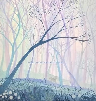 Misty Morning by Jane Cornwell