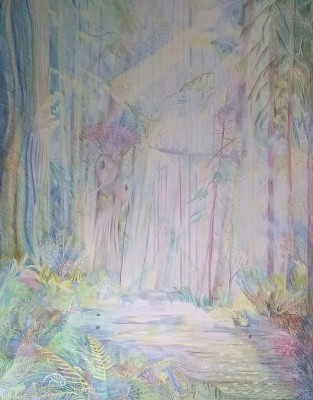 Hi! Forest of Endor, in progress : )