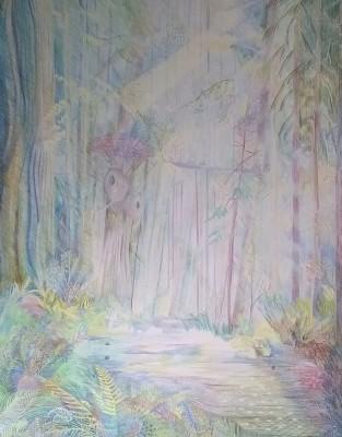 Hi! Forest of Endor, in progress : )