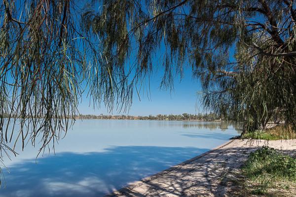 Lake Benanee at Euston