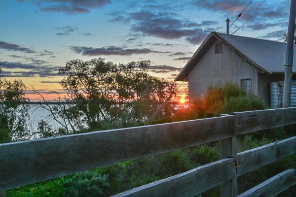 Sunset at Lake Paika