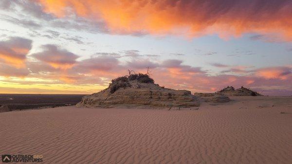 The spectacular wonder of World Heritage Listed, Mungo National Park