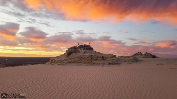 The spectacular wonder of World Heritage Listed, Mungo National Park