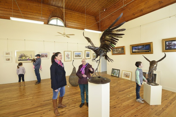 The Gallery at Balranald is filled with local works of art