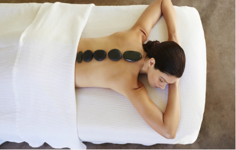 Check out or massage packages