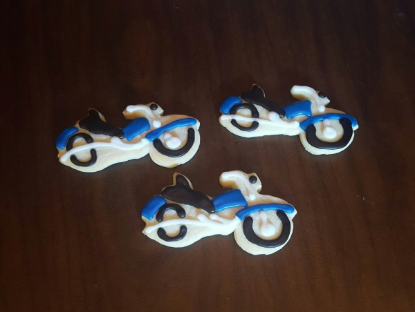 Motorcycle Cookies