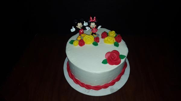 Mickey Anniversary Cake
