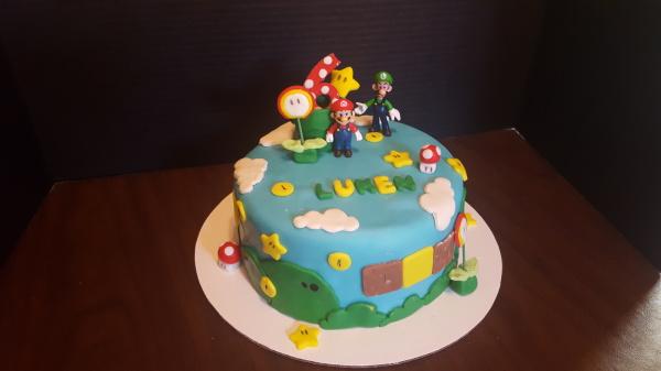 Mario  Cake #3