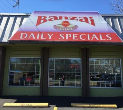 Banzai sushi bar and grill in Central Austin, Texas